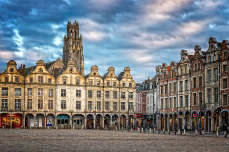 Heroes Square in Arras