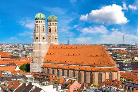 Frauenkirche Cathedral in Munich