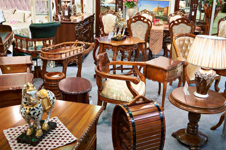 Antique furniture store