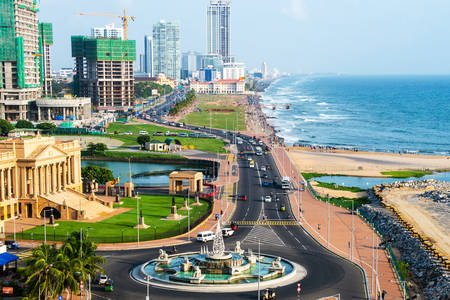 Colombo waterfront