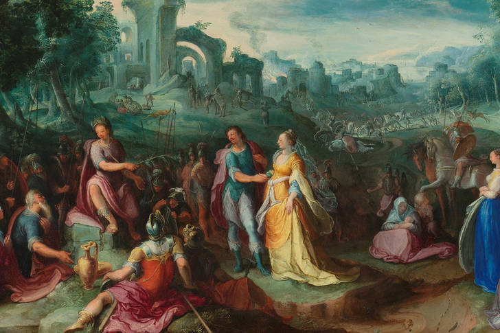 "Karel van Mander: ""The Continence of Scipio, 1600"""