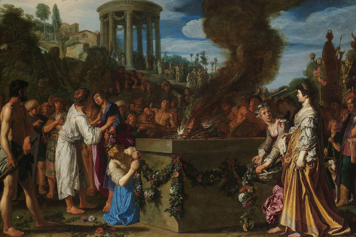 "Pieter Lastman: ""Orestes and Pylades Disputing at the Altar"""