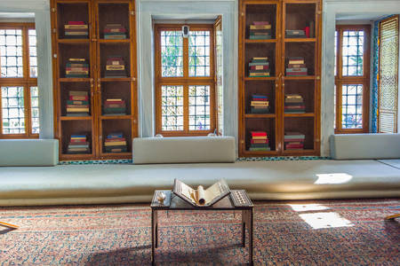 Letter room in Topkapa Palace