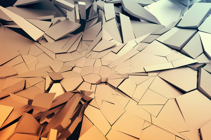 3D Abstraction: Shards