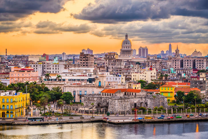 Sunset in Havana Jigsaw Puzzle (Countries, Cuba) | Puzzle ...