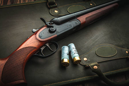 Hunting rifle and cartridges