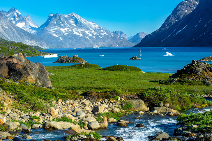 Fjords of greenland