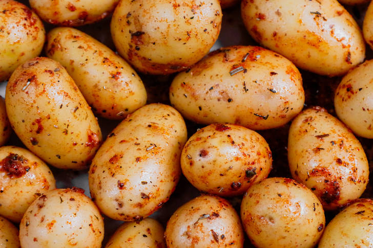 Spiced potatoes