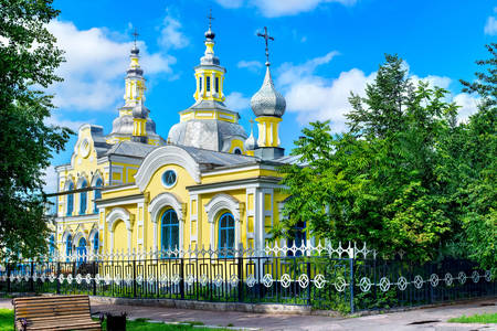 Spassky Cathedral in Minusinsk