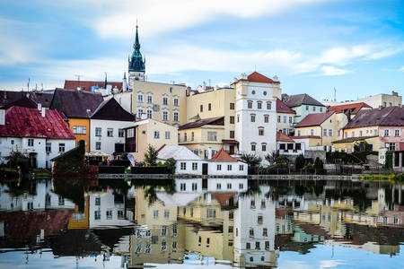 Old Town Jindrichuv Hradec