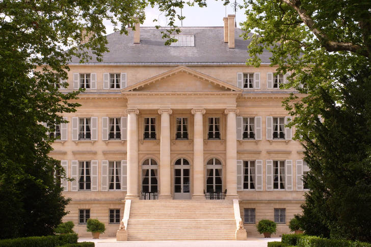 The main building of the Chateau Margot estate