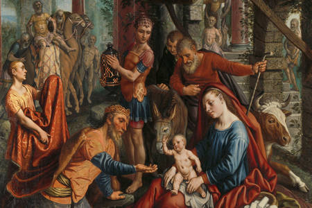 "Pieter Aertsen: ""The Adoration of the Magi"""