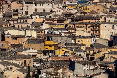 Roofs of ancient Toledo