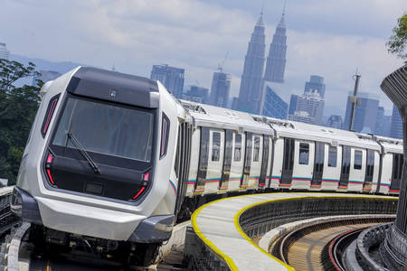 Malaysian train of the next generation