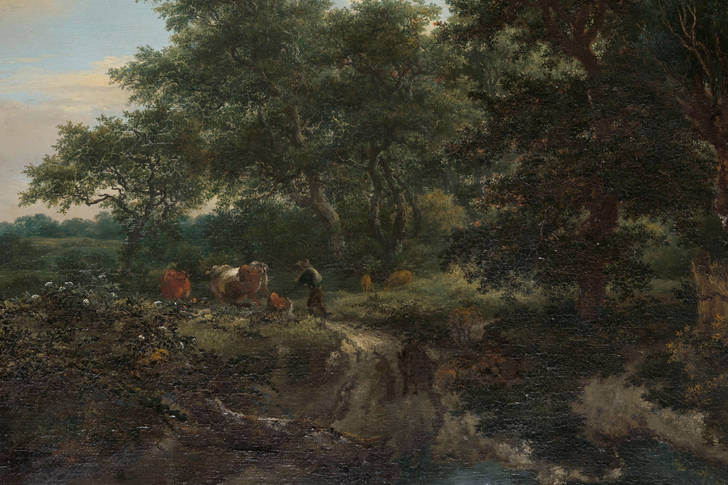"Jacob van Ruisdael: ""Forest Scene"""