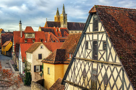 Arquitectura de Rothenburg
