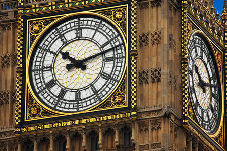 Big ben close up