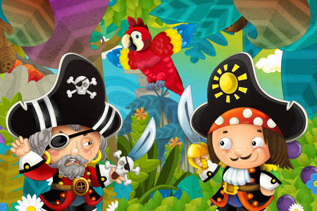 Jungle pirates