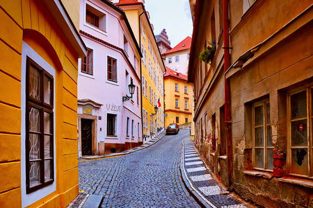 Old streets in Prague