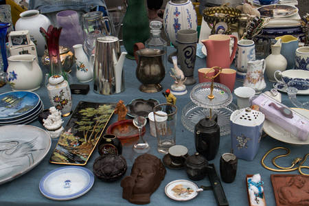Flea market in London
