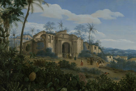 "Frans Jansz Post: ""View of Olinda, Brazil"""