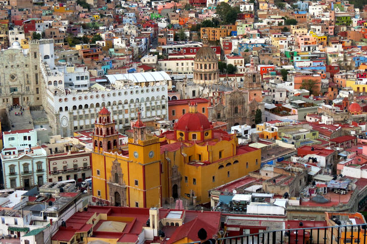 The vibrant city of Guanajuato