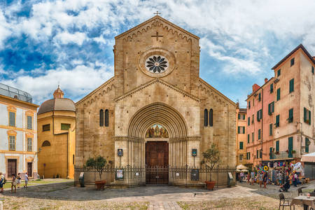 Cathedral of San Siro in San Remo