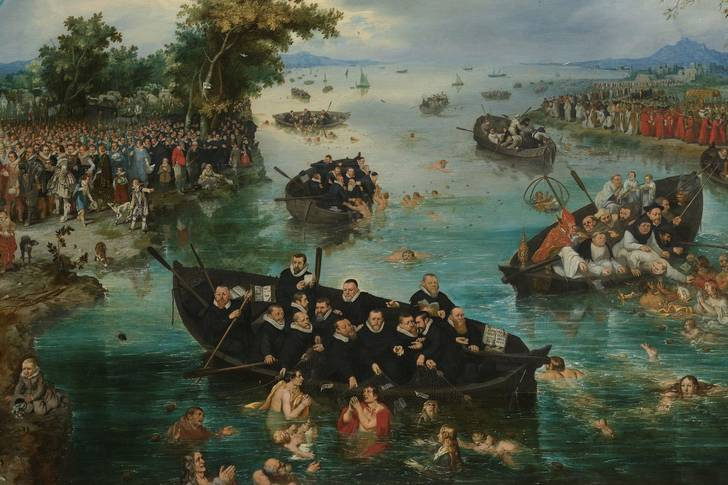 "Adriaen van de Venne: ""Fishing for Souls"""