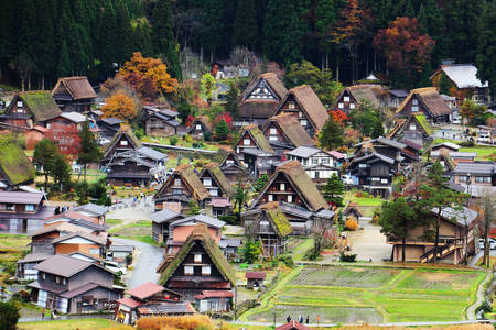 Shirakawa Mountain Village
