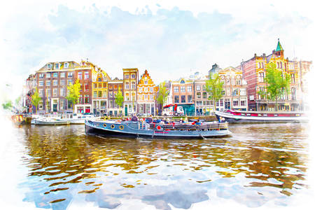 Landscapes of Amsterdam