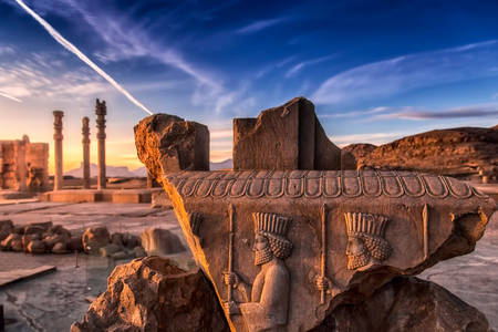 Ancient city of Persepolis