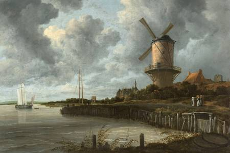 "Jacob van Ruisdael: ""The Windmill at Wijk bij Duurstede"""