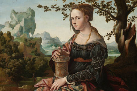 "Jan van Scorel: ""Mary Magdalene"""