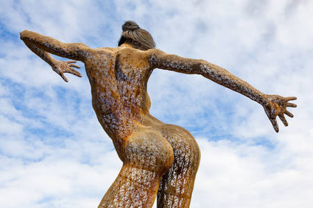 "Sculpture ""Bliss Dance"""