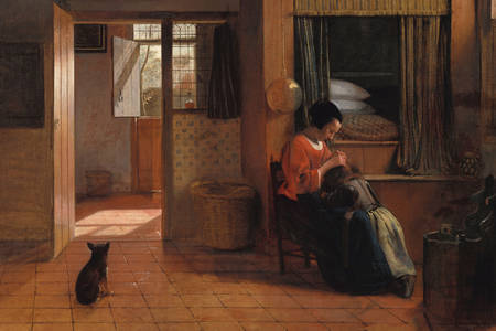 "Pieter de Hooch: ""A Mother's Duty"""