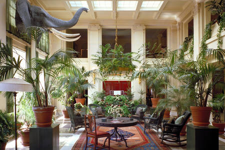Interior of the house of George Eastman