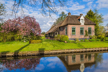 Giethoorn village in the Netherlands