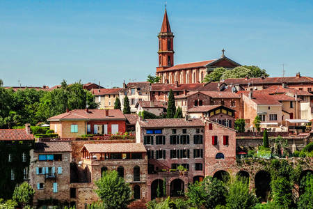 Medieval town of Albi
