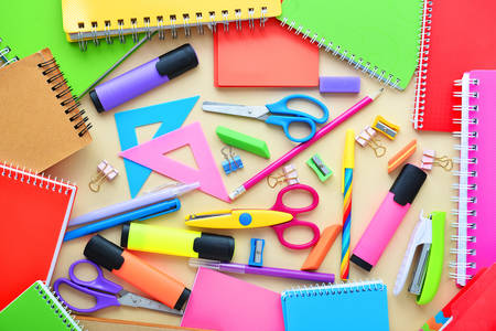 Bright stationery