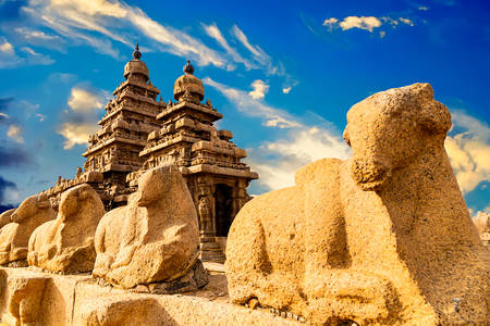 Coastal Temple in Mamallapuram