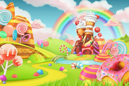 The magic land of sweets