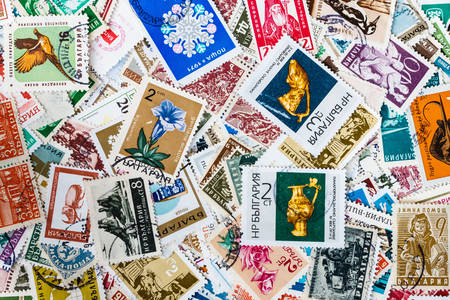 Various postage stamps