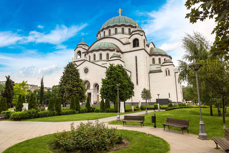 Temple of Saint Sava