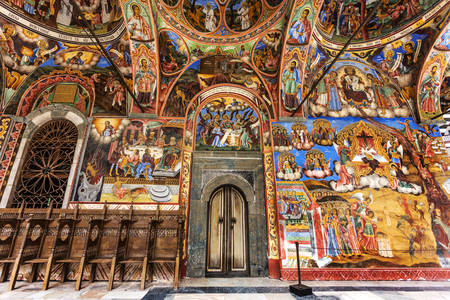 Frescoes of the Rila Monastery
