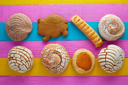 Mexican sweet pastries