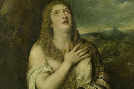 "Titian: ""Penitent Mary Magdalene"""
