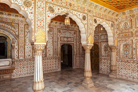 Interior at Junagadh Fort