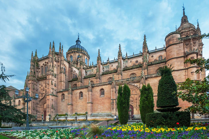 New Cathedral in Salamanca