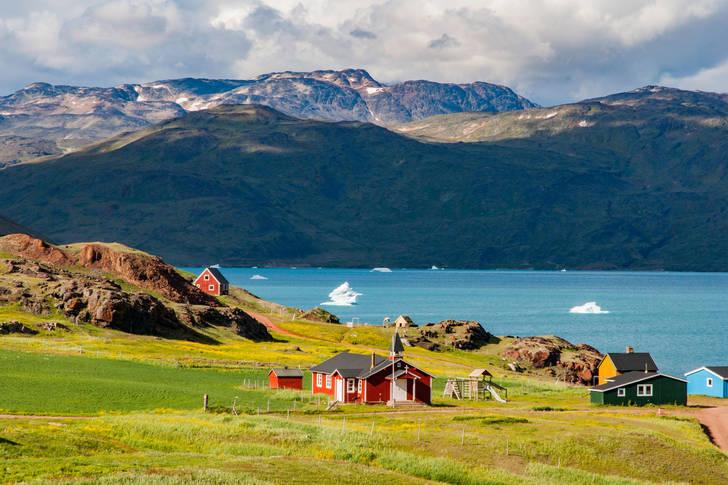 View of Narsarsuaq Jigsaw Puzzle (Countries, Greenland ...
