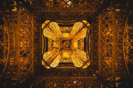 Eiffel Tower - bottom view